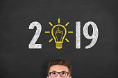 New Year 2019 Idea Concepts