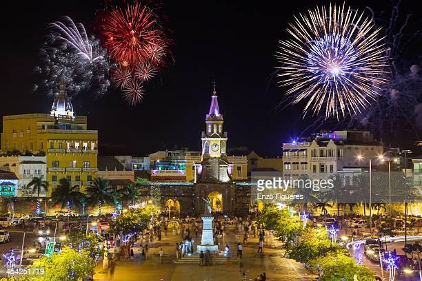 New Year at Cartagena
