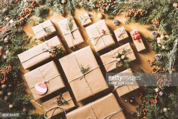 New Year Christmas gift boxes