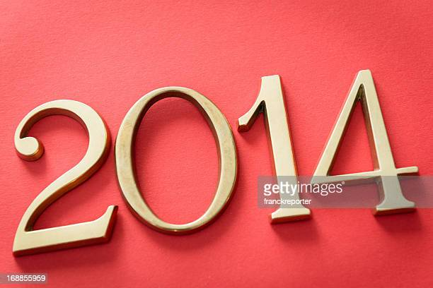 2014 new year composition