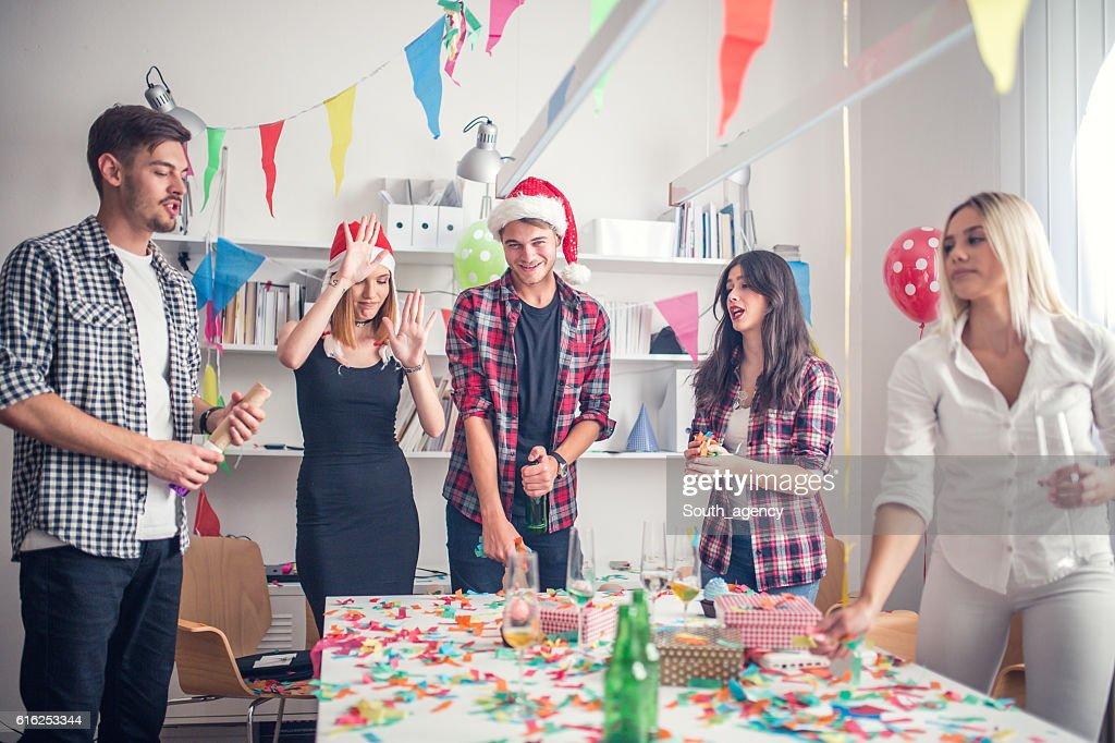 New year's celebration : Foto de stock