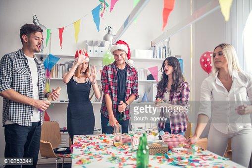 New year's celebration : Stock Photo