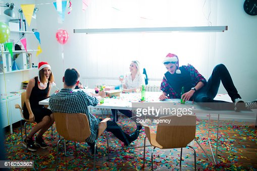New year's day party : Foto de stock