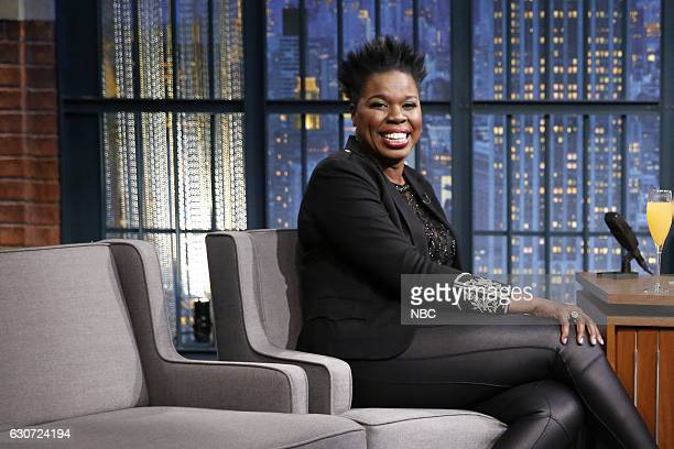 MEYERS 'New Year's Eve Special' Pictured Actress Leslie Jones during the 'Late Night with Seth Meyers New Year's Eve Special' airing on December 31...