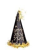 "Año nuevo perfil en'U"",Chapeau du Nouvel An"""