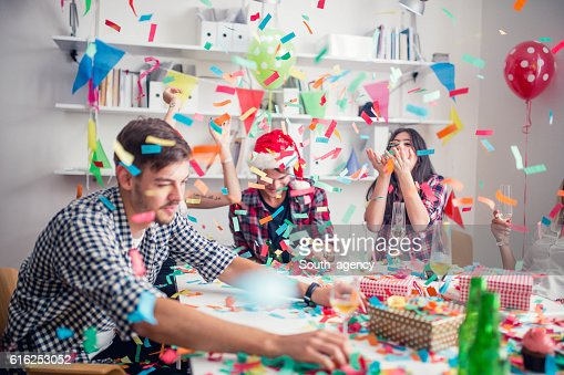 New year's party : Stock Photo