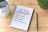 List, New Year Resolution, Determination, Pen, Note Pad, Coffee