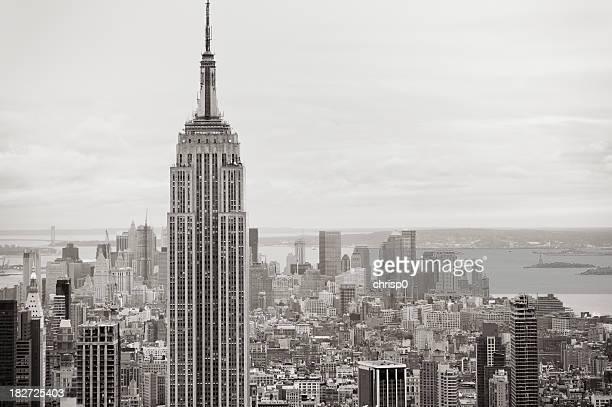 New York - Aerial View of Manhattan