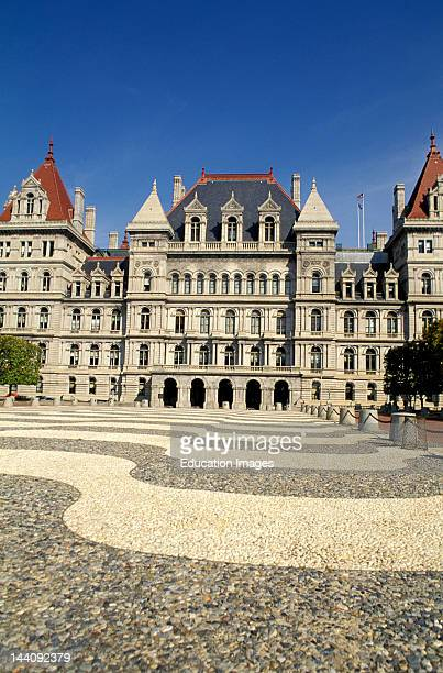 New York Albany State Capitol Building
