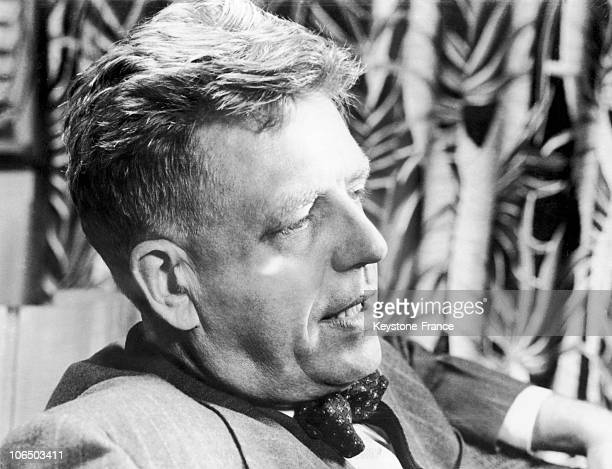 New York Alfred Kinsey Author Of The Sexual Behavior In The Human Male On June 7Th 1950