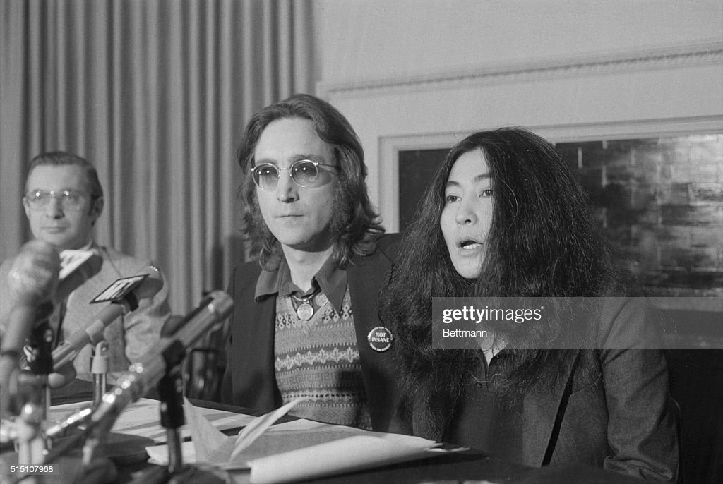 Announces nutopia beatle john lennon and wife yoko ono wave