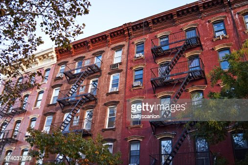 new york apartments buildings.  New York Apartment Buildings Stock Photo Getty Images