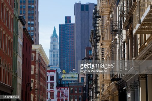 New York Architecture Soho Lofts Manhattan Stock Photo Getty Images