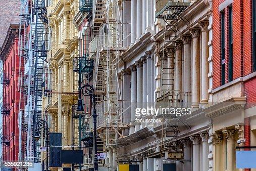 New York Architecture: SoHo Lofts : Stock Photo