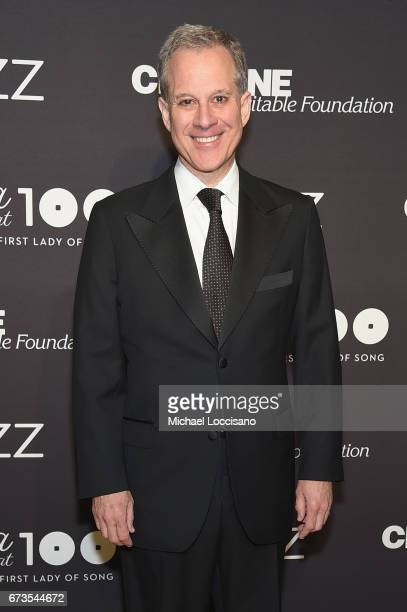 New York Attorney General Eric Schneiderman attends the Jazz at Lincoln Center 2017 Gala 'Ella at 100 Forever the First Lady of Song' on April 26...