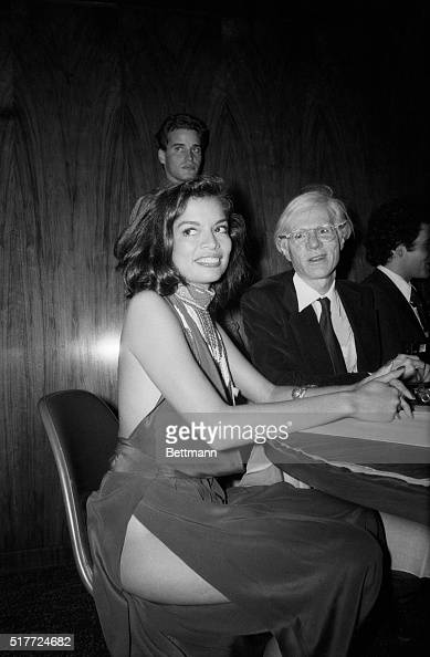 Bianca Jagger shows a little more flesh than she realized while attending the party which followed the premiere of the movie 'The Ritz' August 11...