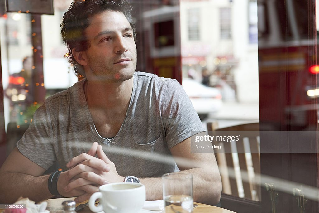 New York cafe lifestyle 06 : Stock Photo
