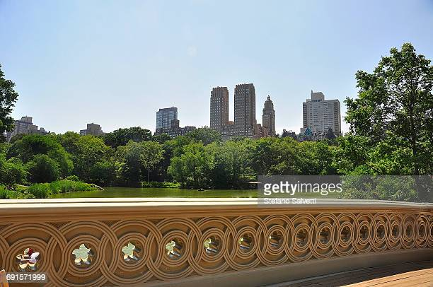 New York, Central Park and building