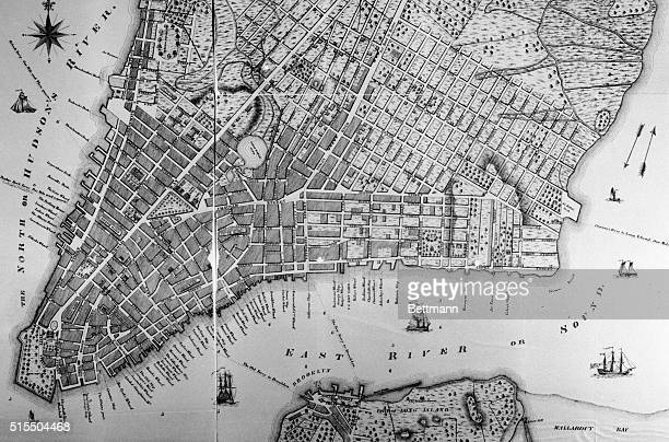 A new and accurate plan of the city of New York in the state of New York in North America Published in 1797