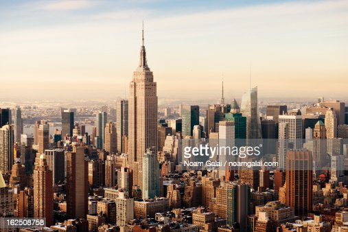 New York City as seen from above