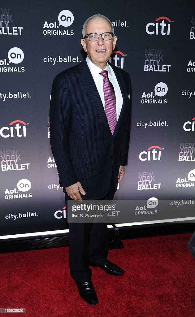 New York City Ballet Board Member David A. Nadler attends the New York series premiere of 'city.ballet.' at Tribeca Cinemas on November 4, 2013 in New York City.
