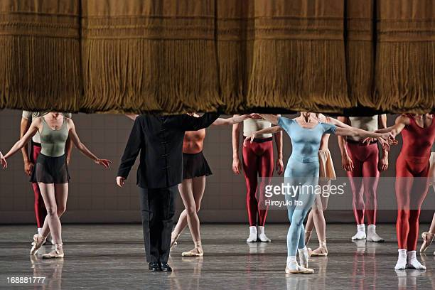 New York City Ballet performing in its American Music Festival at the David H Koch Theater on Friday night May 10 2013This imageA curtain call