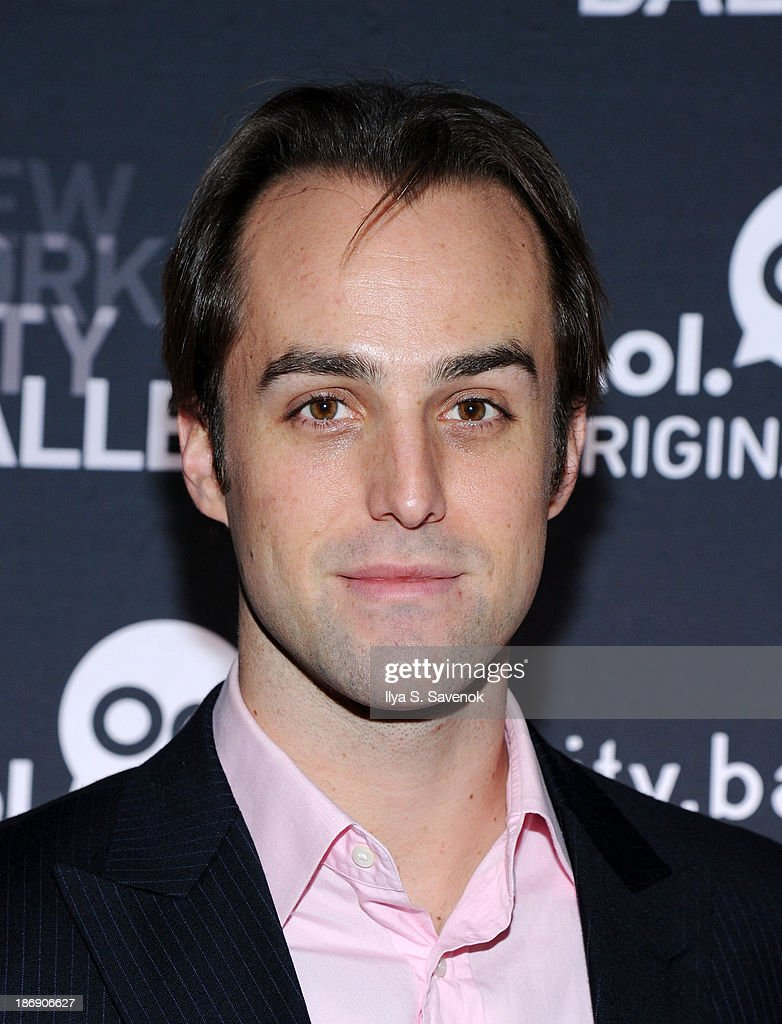 New York City Ballet principal dancer Jared Angle attends the New York series premiere of 'city.ballet.' at Tribeca Cinemas on November 4, 2013 in New York City.