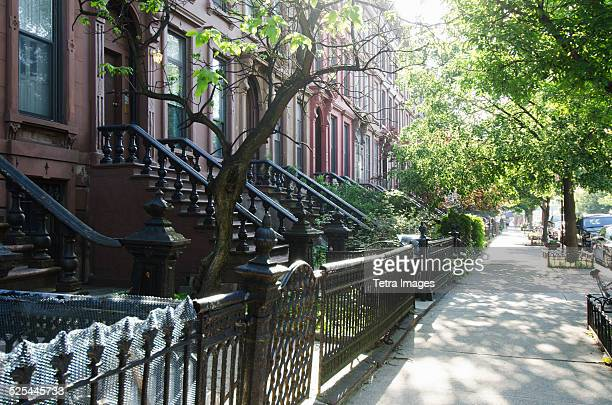 USA, New York City, Brooklyn, Empty street