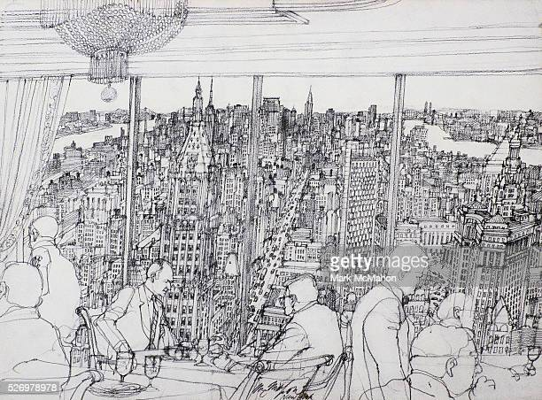 New York City Business Lunch by Franklin McMahon