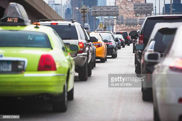 New York City, Cars in traffic jam