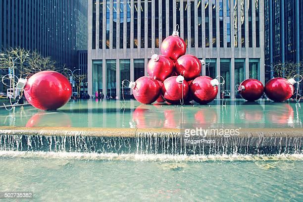 New York City Christmas Balls