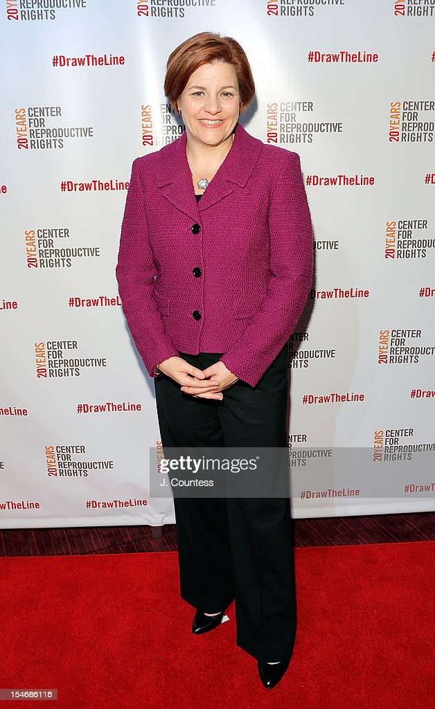 New York City Council Speaker Christine Quinn attends the Center For Reproductive Rights Inaugural Gala at Jazz at Lincoln Center on October 24, 2012 in New York City.
