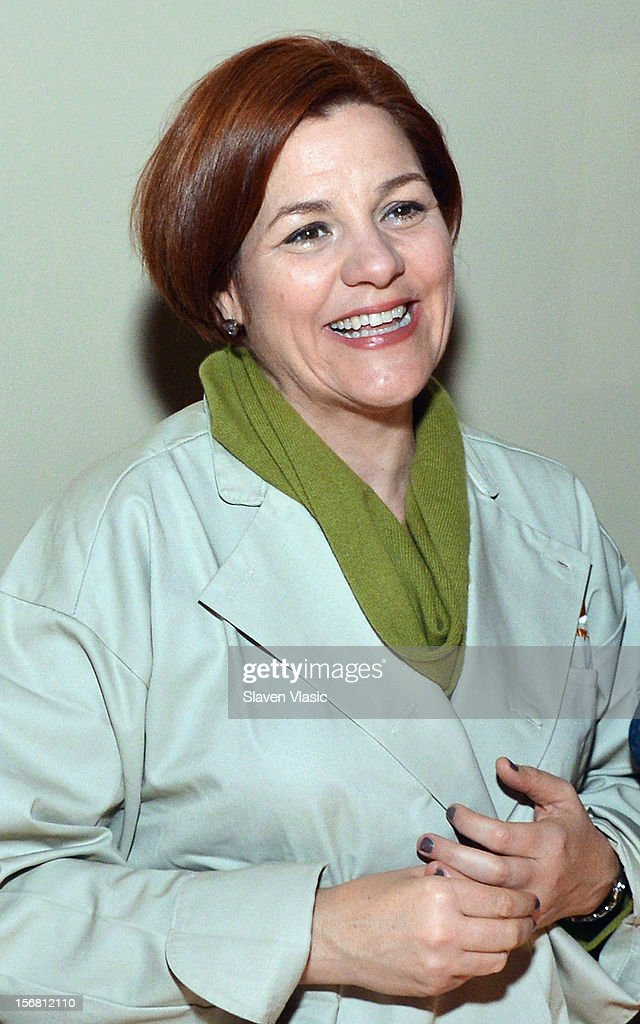 New York City Council Speaker Christine Quinn attends the Our Table Is Yours - A Thanksgiving Day benefit at Cipriani, Wall Street on November 21, 2012 in New York City.