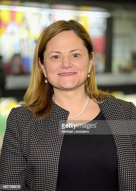 New York City Council Speaker Melissa MarkViverito attends DreamYard BronxWide Poetry Slam hosted by Mad Over You at Joe's Pub and The Library at the...