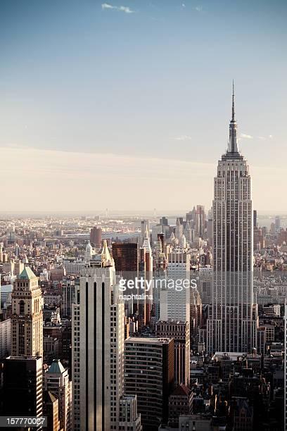 ニューヨーク市の夜の眺め