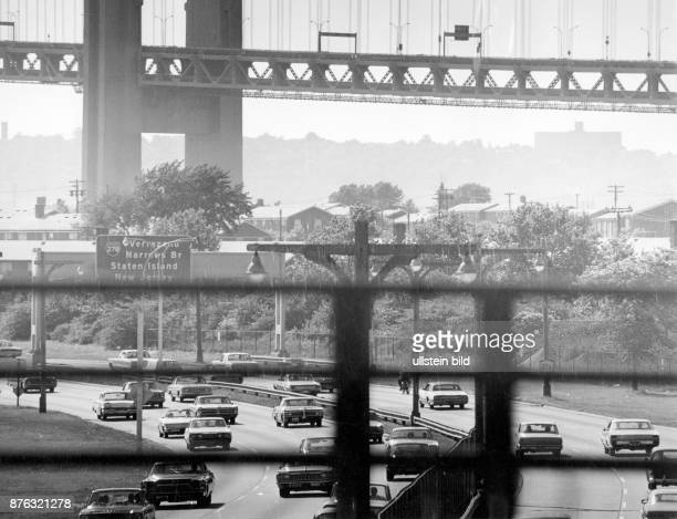 New York City express highway to Coney Island
