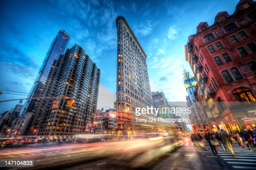 New York City flatiron building