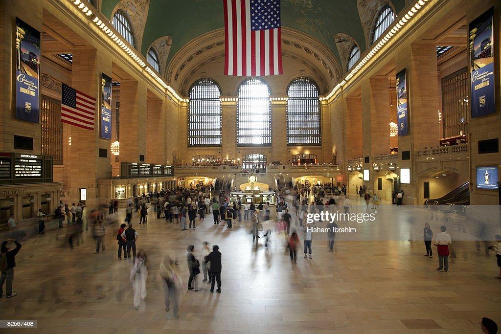 USA, New York City, Grand Central Station interior : Stock Photo