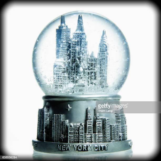 New York City in a Bubble Globe