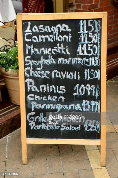New York City italienischen Mittagsmenü