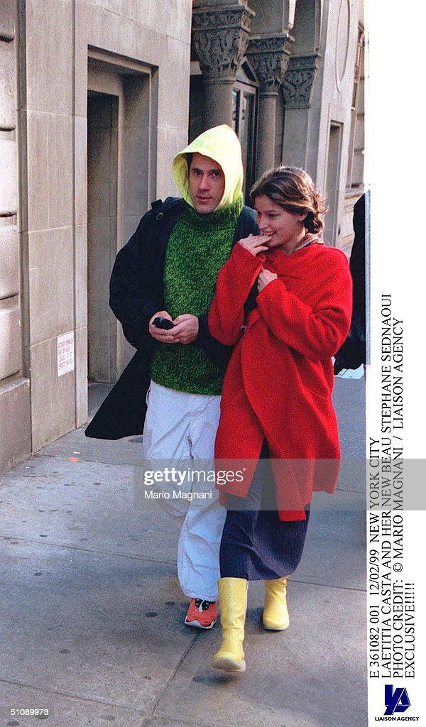 Laetitia Casta was in a relationship with Stephane Sednaoui