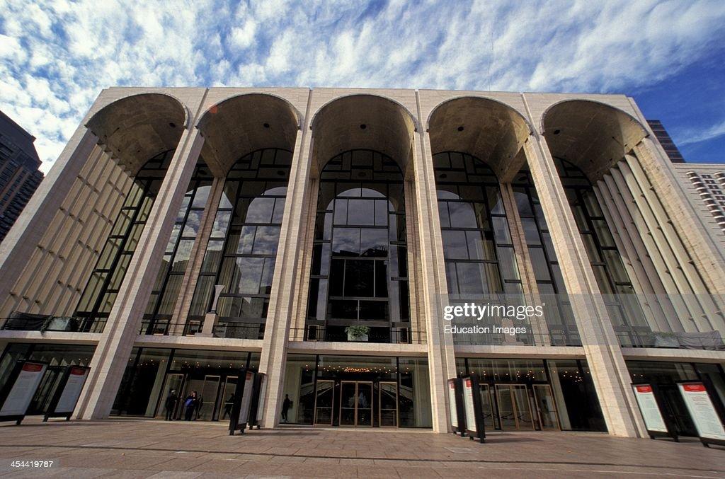 New York City Lincoln Center Metropolitan Opera House