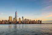 USA, New York City, Manhattan skyline