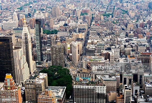 USA, New York City, Manhattan view