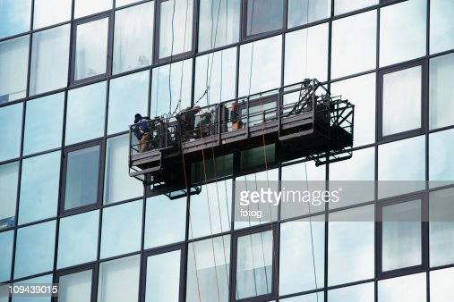 Window Cleaner Stock Photos and Pictures | Getty Images