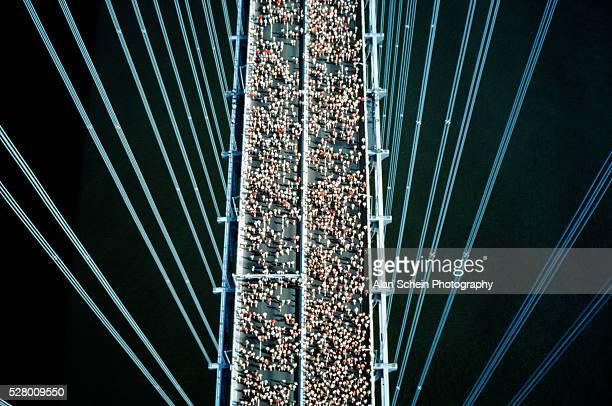 New York City Marathon, Verrazano Bridge