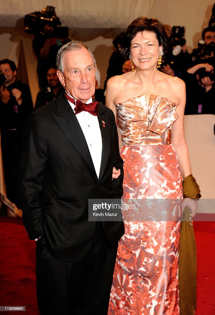 New York City Mayor Michael Bloomberg and Diana Taylor attends the 'Alexander McQueen: Savage Beauty' Costume Institute Gala at The Metropolitan Museum of Art on May 2, 2011 in New York City.