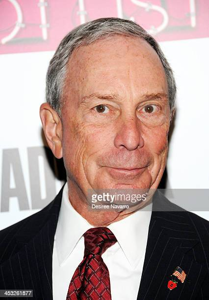 New York City Mayor Michael Bloomberg attends the 2013 Adweek Hot List gala at Capitale on December 2 2013 in New York City