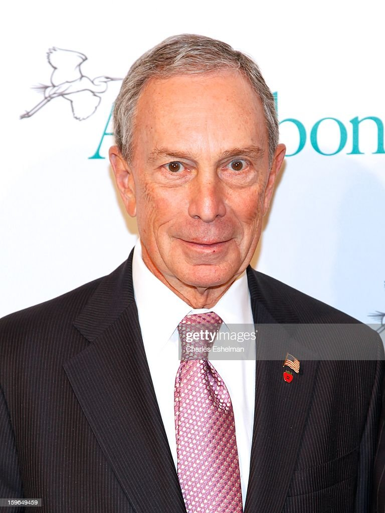 New York City Mayor Michael Bloomberg attends the 2013 National Audubon Society Gala Dinner on January 17, 2013 at The Plaza Hotel in New York, City.