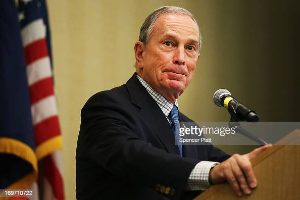 New York City Mayor Michael Bloomberg speaks at the North American Board Meeting for the Union for Reform Judaism on May 31 2013 in New York City...